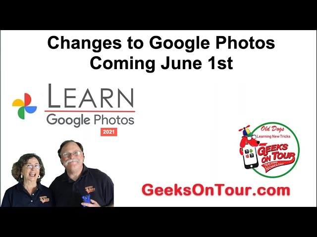 Google Photos is Changing on June 1st! Tutorial Video 691