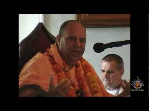 Alachua Temple - H.H. Jayapataka Swami talks about the glories of Mother Ganges.