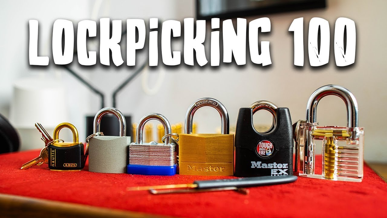 I Learned How to Pick All of These Locks!! (Lockpicking 100)