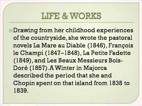 George Sand Life & Works