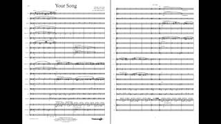 Your Song - Young Band Entertainment, Grade 3 (John-Taupin/Hannevik)