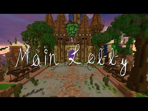 Minecraft Map: MAIN LOBBY (HUB) +FREE Download | TheCrakMC