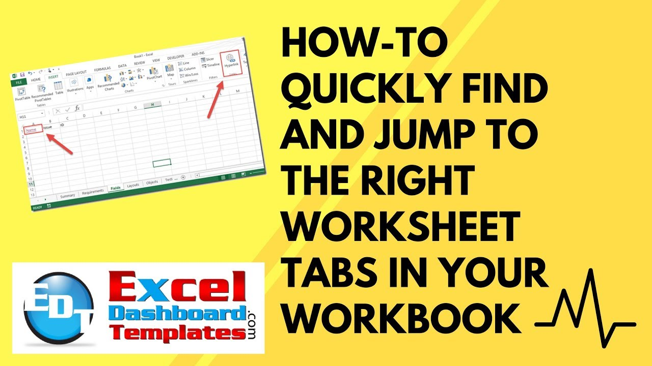 How-to Quickly Find and Jump to the Right Worksheet Tabs in Your ...