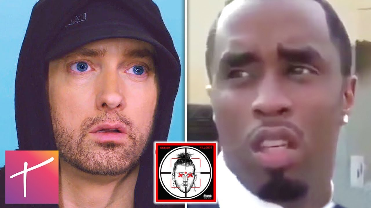 Diddy Responds To Eminem's Diss 'Killshot' And How He Will HANDLE Eminem #1
