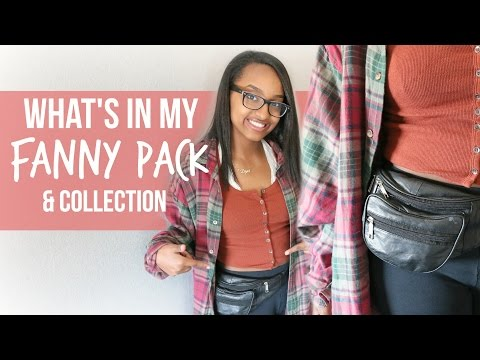 What's In My Fanny Pack/ Bum Bag + Collection