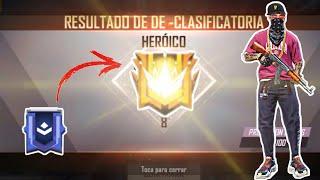 DESDE PLATINO HASTA HEROICO - CLASIFICATORIA EN DUELO DE ESCUADRA // SUBIENDO A HEROICO #FREEFIRE