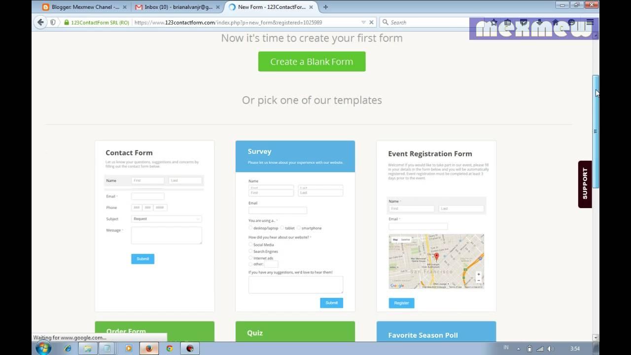 Contact Us Web Page >> Cara Mudah Membuat Halaman Contact Us Untuk Blog