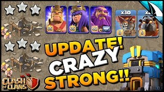 *Air Dominates!* Update is Crazy Strong - Th 12 Sui Lalo LIVE War Attacks| Clash of Clans