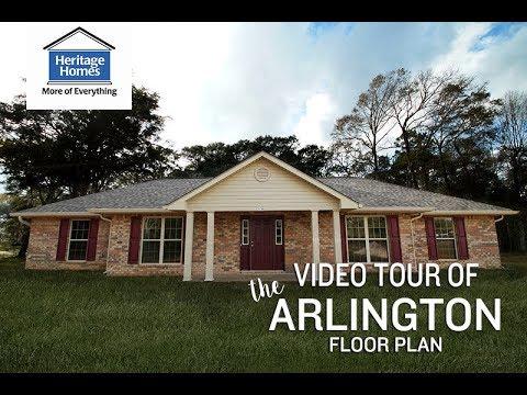 Heritage Homes - Arlington Floor Plan