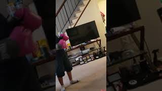 The boys  boxing