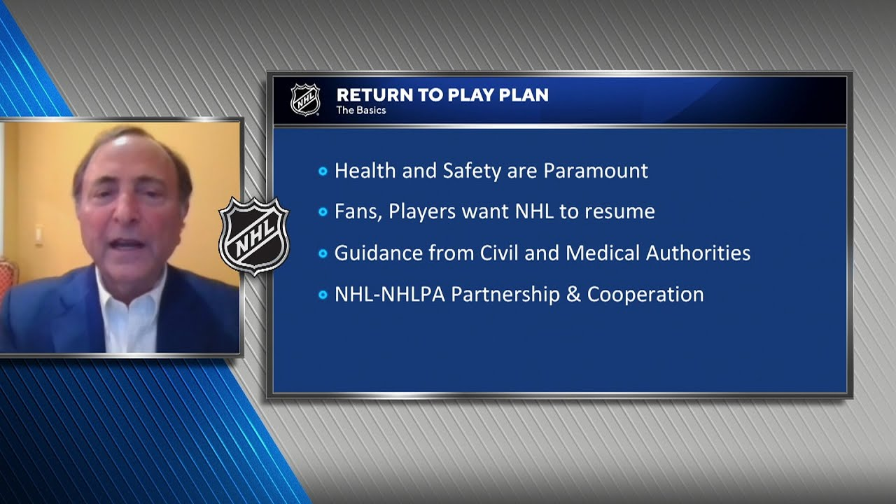 NHL announces plans for resumption of season with 24-team playoff