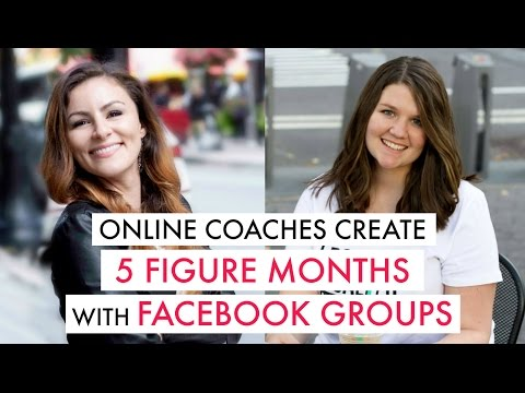 Create 5 figure months in Facebook Groups with Jen Casey & Taylor Manning