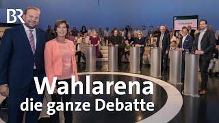 Kontrovers Wahlarena & BayernTrend September 2018   1 Monat vor Bayern-Landtagswahl