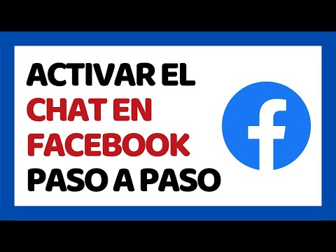 🔴 Cómo Activar El Chat En Facebook 2019