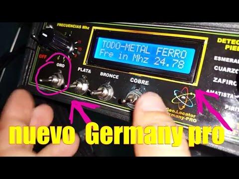detector de metales Geolocator Germany -pro nuevo