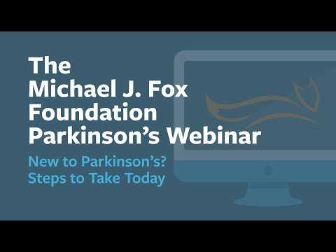 """Webinar: """"New to Parkinson's? Steps to Take Today"""" February 2021"""