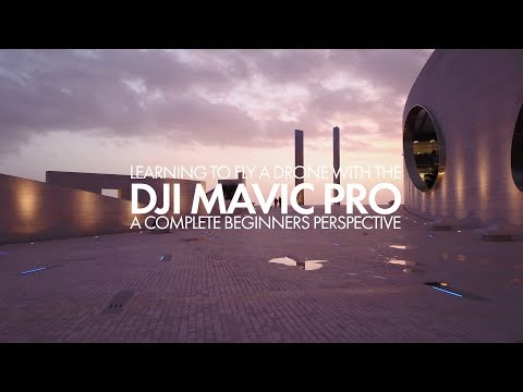 Learning to fly a drone with the DJI Mavic Pro