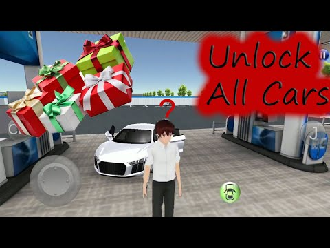 3d Driving Class #3  Unlock  All Cars - Get Out Of The Vehicle - Car Games