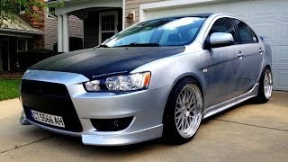 My Mitsubishi Lancer GTS Walk Around Update