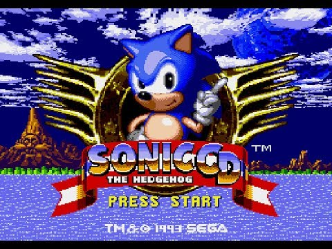 Sonic the Hedgehog CD (US) playthrough ~Longplay~