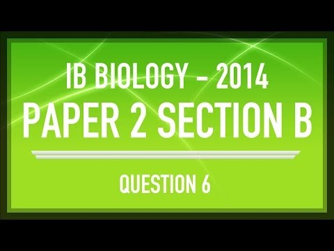 IB SL Biology Past Paper 2 Questions - Question 6 [Sigmoid Population Growth Curve]