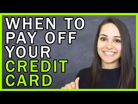 When To Pay Your Credit Card Bill And Increase Your Credit Score!!!