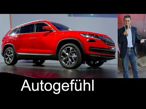 All-new Skoda Kodiaq World Premiere SUV Exterior Interior REVIEW - Autogefühl