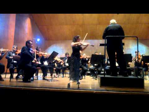 Concierto para Violin de Brahms  Op.77 3mov - Rachel Varga