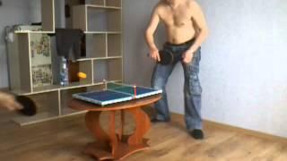 Мини стол для настольного тенниса(, 2014-05-19T12:56:45.000Z)