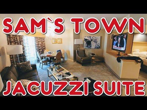 Sam's Town, Las Vegas -  Jacuzzi Suite Tour (2018)