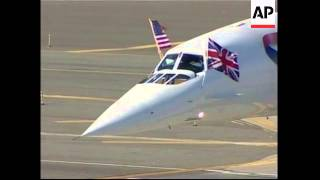 Concorde arrives in New York en route to Seattle museum