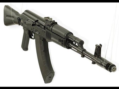 Сайга — охотничий карабин на базе автомата, выпускаемый разработчиками. Сайга-20к исп. 04 — самозарядный гладкоствольный карабин со. Может быть установлена колодка мушки с дульным тормозом компенсатором. Ак-103, под патроны 5,45х39; 5,56×45 мм и 7,62×39 мм соответственно.
