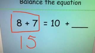 Math 1- 1.OA.D8- Missend Addends