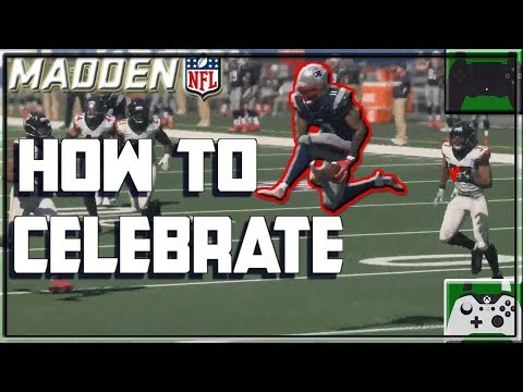 How to Celebrate & Showboat in Madden 18 or 19 | Xbox & Playstation