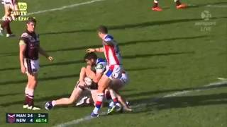 Rugby Player Korbin Sims Grabs A Handful Of His Opponents Penis On The Field