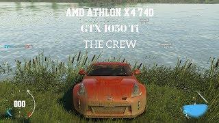 Amd Athlon X4 740 + GTX 1050Ti