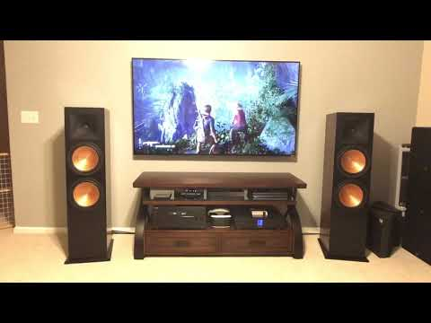 Klipsch RF-7 III gaming sound test