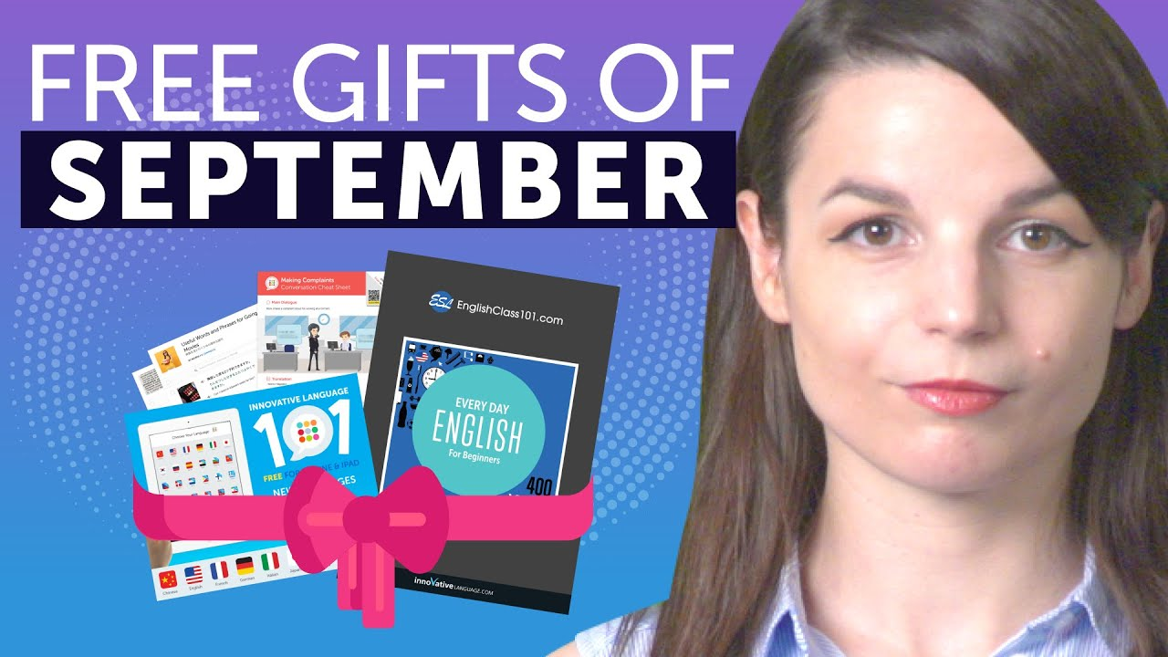 FREE Japanese Gifts of September 2019