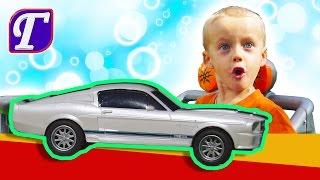 Распаковка Радио Управляемой Машинки и Гонки Игры Веселие unpacking entertainment VLOG kids cars