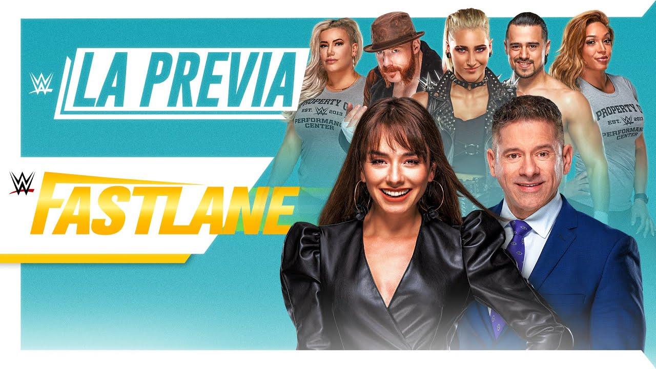 Watch LA Previa WWE Fastlane 2021 3/21/21