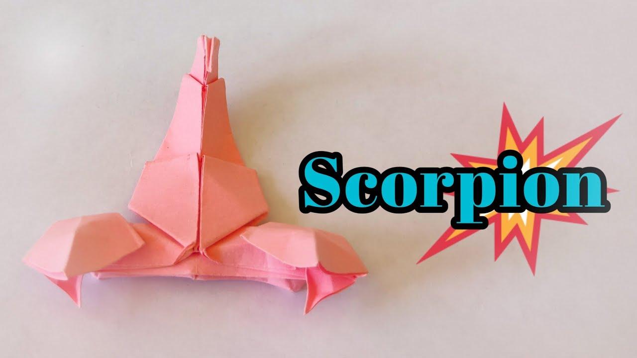 สอนพับแมงป่อง | How to fold a scorpion ง่ายๆ