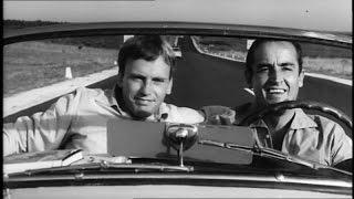 Il sorpasso - regia dino risi ( italia, 1962 )cast:vittorio gassman, jean-louis trintignant,claudio gora, catherine spaak,linda sini, luciana angiolillo, ...
