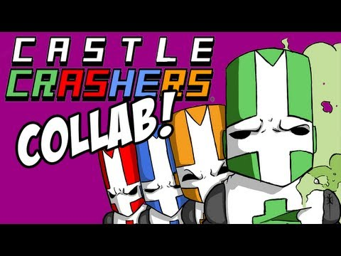 Castle Crashers w/ Mangaminx, CinnamonToastKen, and Yamimash! | Part 1