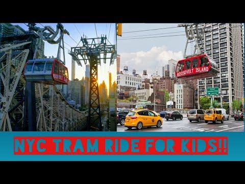 NEW YORK CITY ADVENTURE (TRAM) FUN TRIP FOR KIDS!