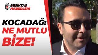 Beşiktaş Asbaşkanı Emre Kocadağ Şampiyonluk Kutlamasında Konuştu