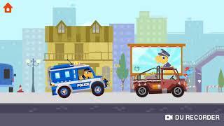 #Kids #Dinosaur #PoliceCar Chase | #YoutubeKids | Dinosaur Police Car - #Submarine Videos #Children