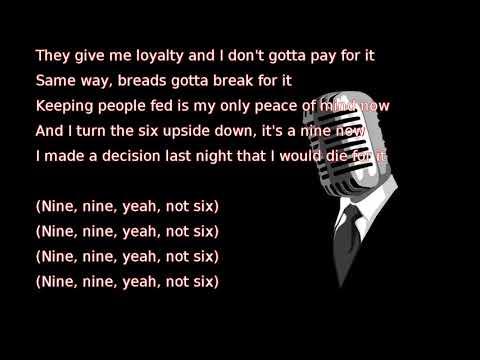 Drake - 9 (lyrics)