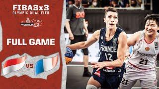 Indonesia V France | Women's - Full Game | FIBA 3x3 Olympic Qualifier