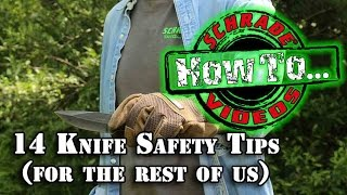 Gambar cover 14 Knife Safety Tips for Kids, Scouts and the Rest of Us
