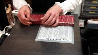 Gift-wrapping Japanese style
